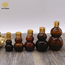 High Quality Amber Glass Vials Bottles with Glass dropper/Plastic Screw Cap/Silicon bulb