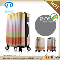 Design your own suitcase travel luggage bag with TSA lock luggage set