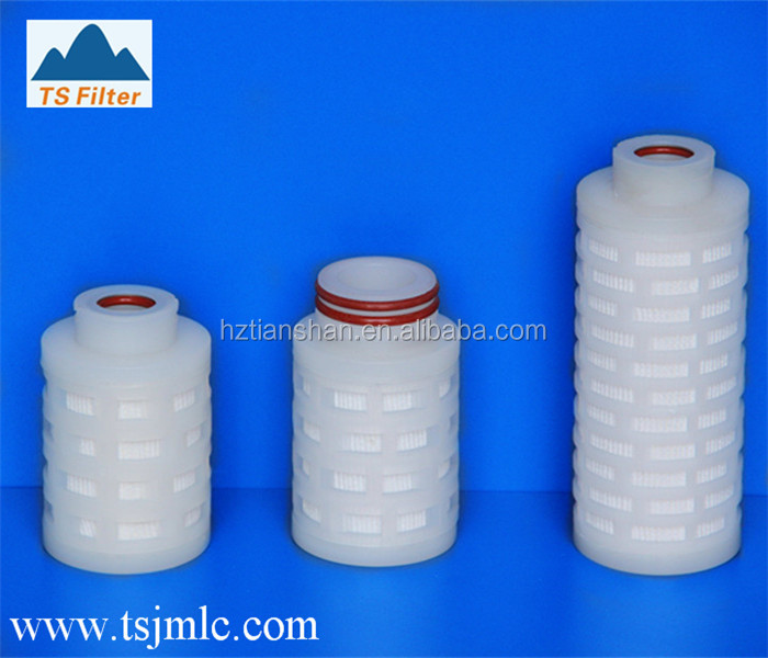 High Efficiency 0.1 Micron Pleated Membrane Filter Cartridge For Small Air Filter
