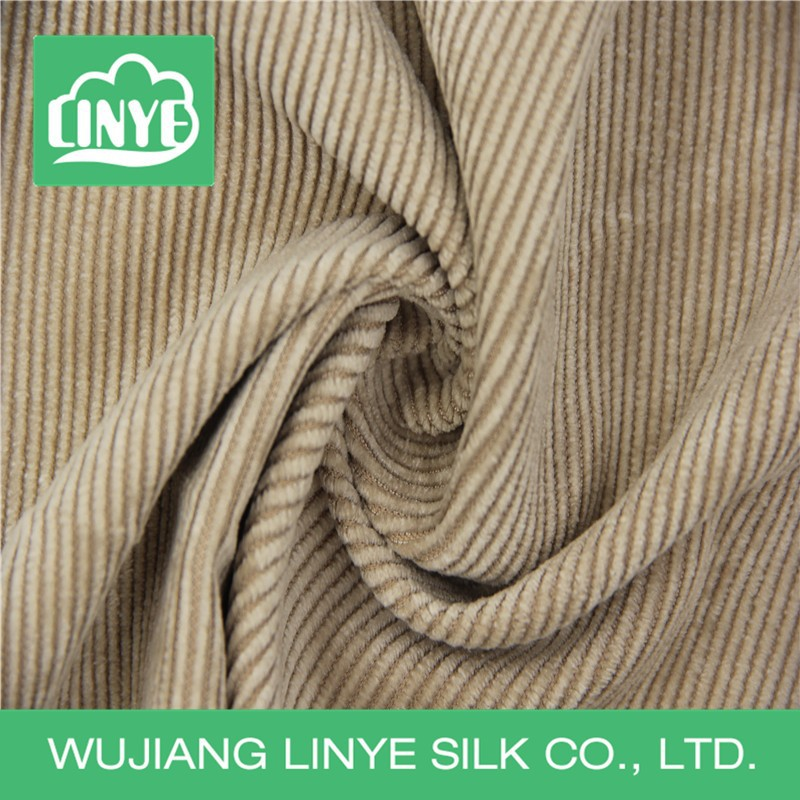 free samples striped car seat upholstery fabric, 11 wale corduroy material