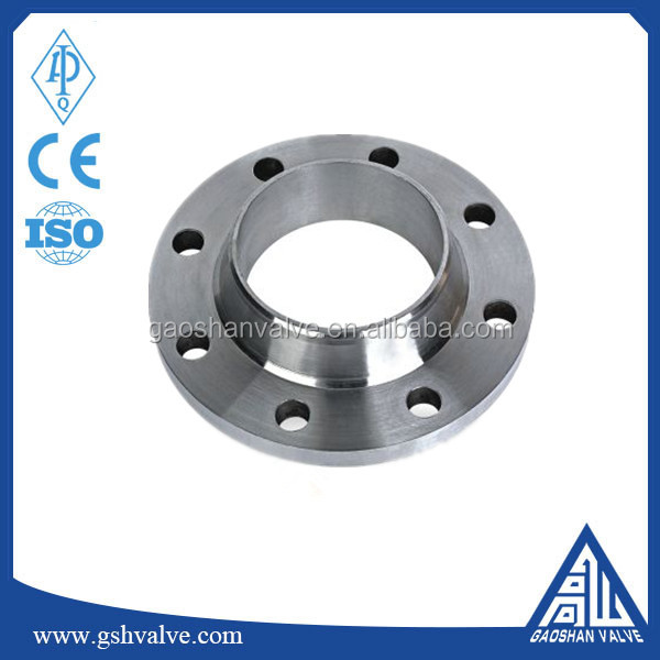 EN1092-1 carbon steel dn200 pn40 forged welding neck flange