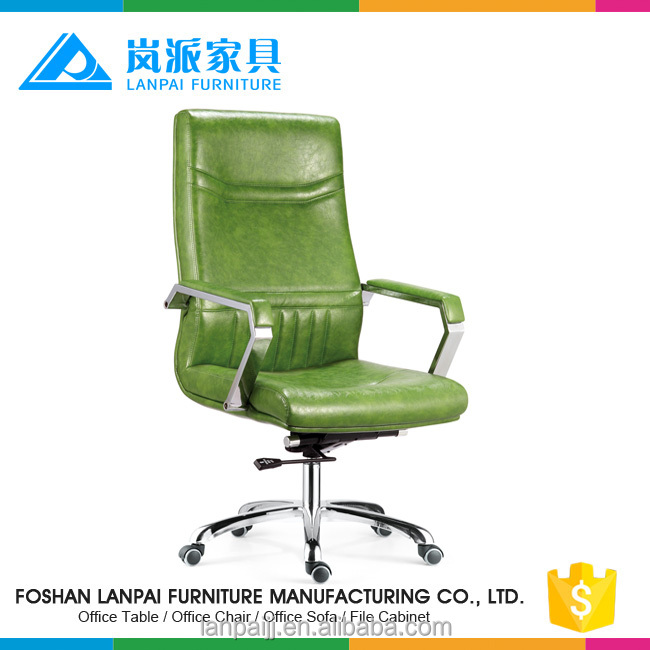 Hot sale cheap high back ergonomic office leather chair with wheels -P13A