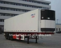 CIMC 13m 40feet food refrigerated trailer/ semitrailer/ reefer truck