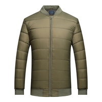 New design quilting mens winter warm puffy soft shell padding jacket