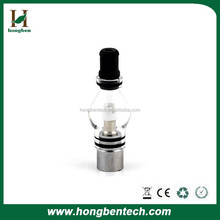 Medical healthcare glass CBD vaporizer 510 thread cartridge glass wax vape pen / Glass Globe Wax Bulb Atomizer