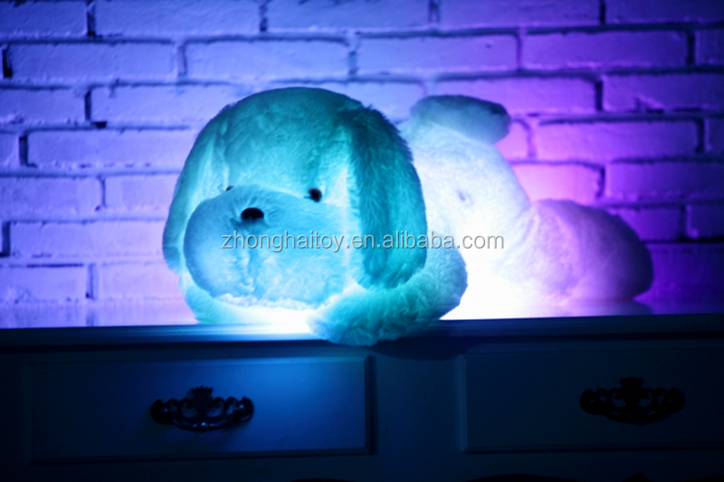Led Light Dog /Plush LED Dog Toys For Sale/Light Up Dog Plush Toy toys for sale
