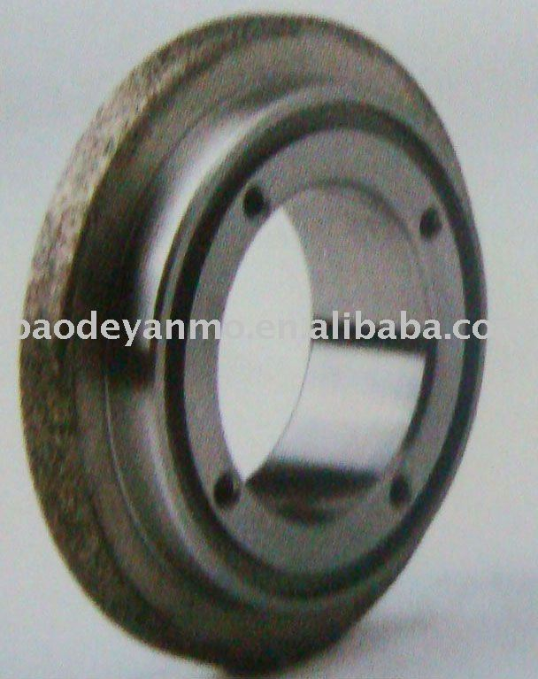 Diamond dressing roller with inner galvanizing Grinding wheels for high precision form grinding