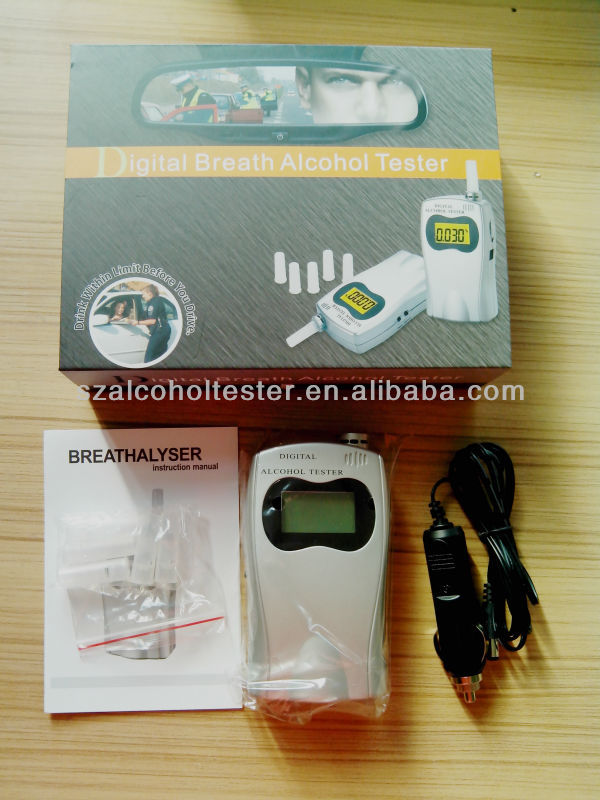 Daily Use Gadgets Professional Digital Alcohol Tester With Replace Mouthpiece AT570