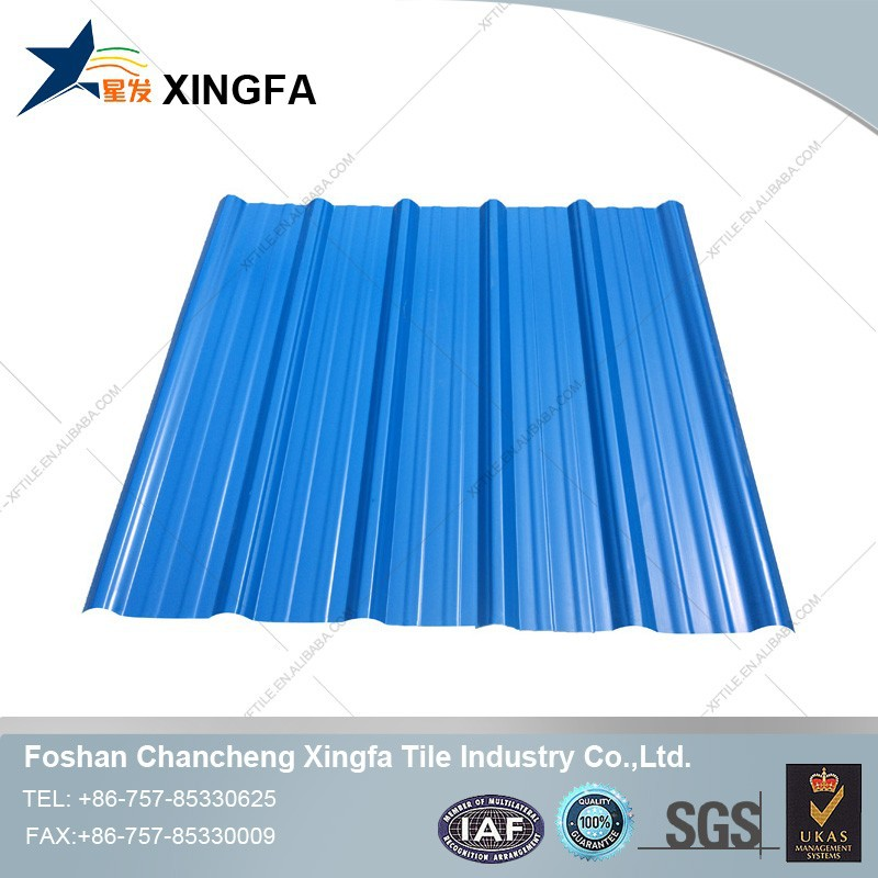 Good Prices Long Span Color Transparent Coated Corrugated Plastic Roofing Sheet