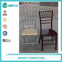 Factory direct sale wooden VIP chair for wedding