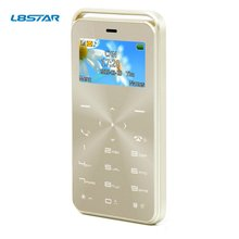 1.69 inch GS6 Unlocked Bluetooth Ultra-thin Credit Card Size Small Basic Mobile Phone