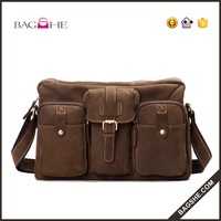 vintage leather bag genuine men menssenger bag