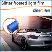 Best quality New design colors car headlight / Glitter frosted light film with competitive price
