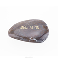 engraved meditation word stone 2017 new fashion engraved words stone