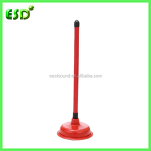 Toilet and Sink Plunger Wtih Plastic Handle