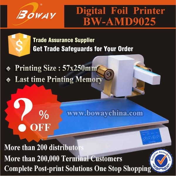 ?%OFF AMD9025 invitation card hot foil stamping printing machine