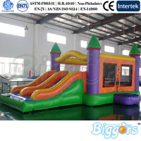 Yard Inflatable Bouncy Castle with Slide Moonwalks for Children