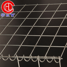 Welded mesh galvanized wire mesh gabion/gabion containment prices