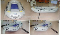 2013 hot sale inflatable motor boat with Aluminum floor