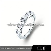 NEW Arrive CDE Crystal keepsake rings