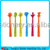 Eco-friendly figure shape 3d soft pvc ballpoint pen for promotional