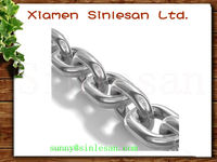 Large chain spring/strong forged steel link chain for slings binding (SGS certificate)