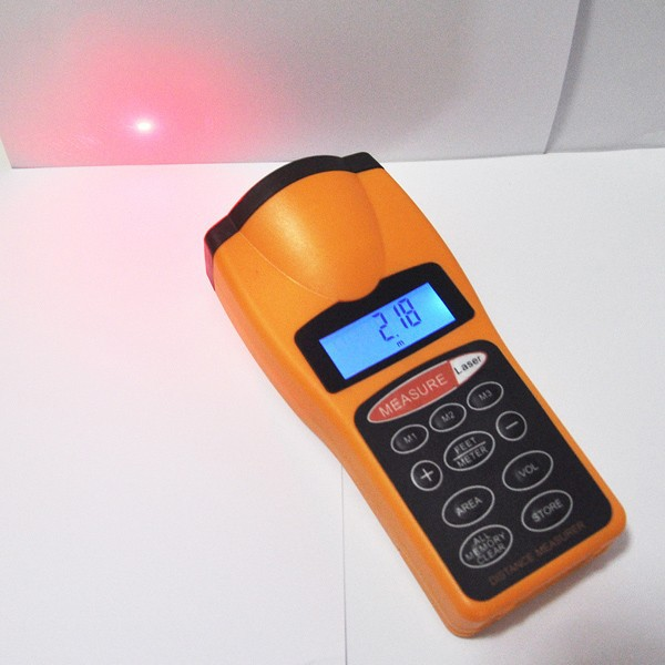 Wholesale 18m 60ft electronic laser digital display long distance measuring equipment