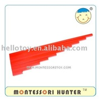 PREMIUM Long Red Rods Montessori of educational toy