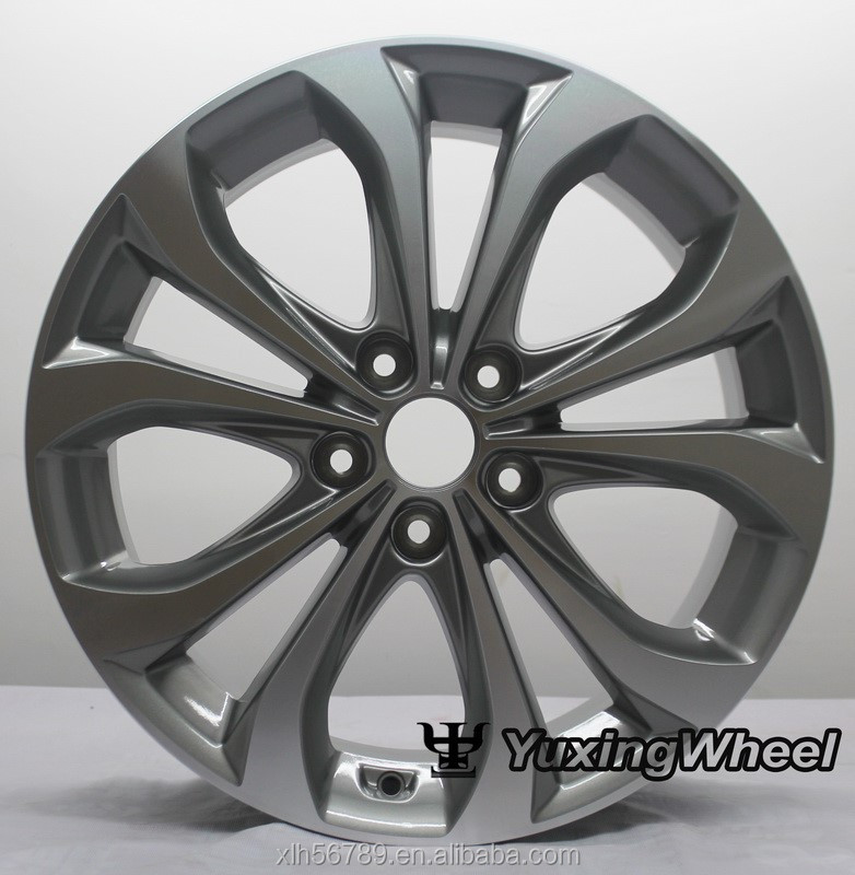 manufactory wl via aluminum wheels for car