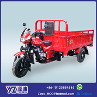 Utility Tricycle Gasoline Motor Tricycle With Motor