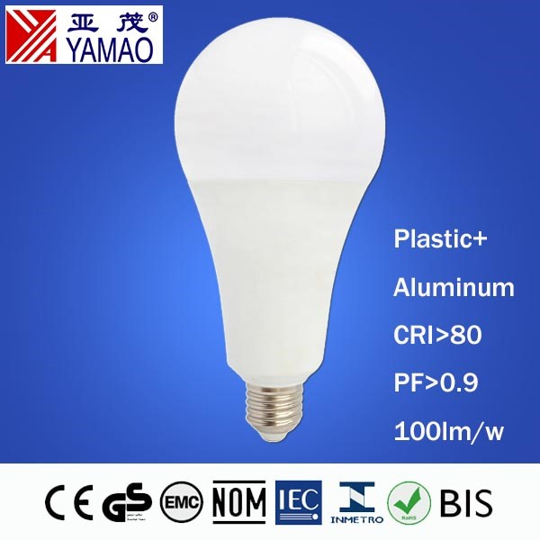 Yamao A95 85-265V BSI SASO 18W LED Light Bulbs Wholesale