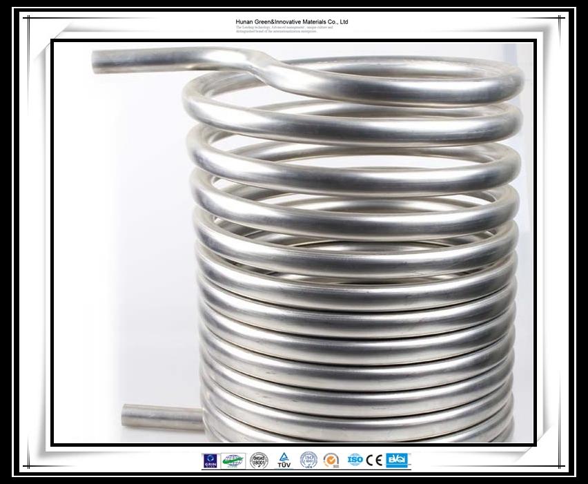 Stainless Steel Condenser Coil Sus316 Tube Heat Exchanger