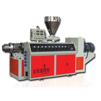 SJ Series of the New Model PVC Granule PP Pellet Venting Extruder Machine