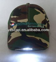 baseball cap with built-in led light