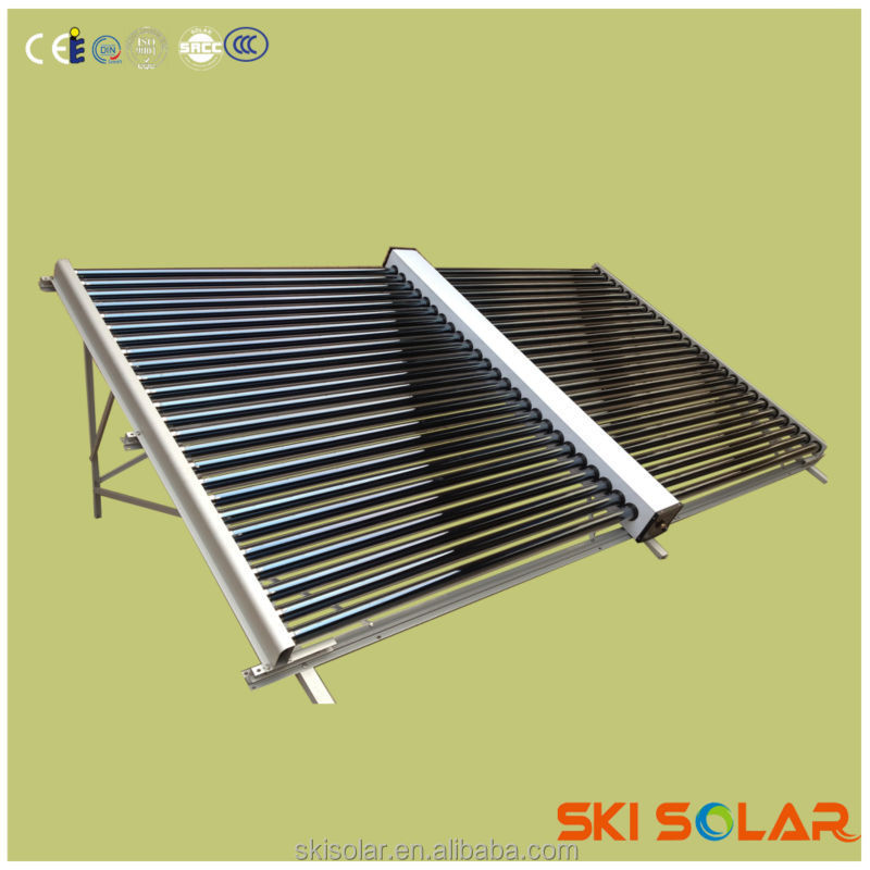 both side open vacuum tube solar collector of china