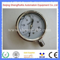 All stainless steel Liquid Filled Pressure Gauge