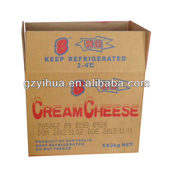 Custom made frozen food packaging box