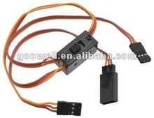 Servo Switch Harness /3 wires for RC helicopters