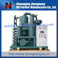 Double-Stage Vacuum Insulation Oil Purification Plant, Aging Transformer Oil Recycling Solution