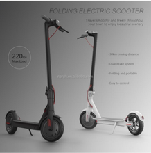 dual motor electric scooter xiaomi folding scooter with APP