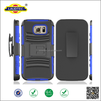 Heavy Duty Armor Case for samsung galaxy S7,3 in 1 Silicone+Plastic Hard Back Cover Belt Clip Holster case