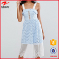Embroided Lace Scalloped Mesh Midi latest dress designs photos for women