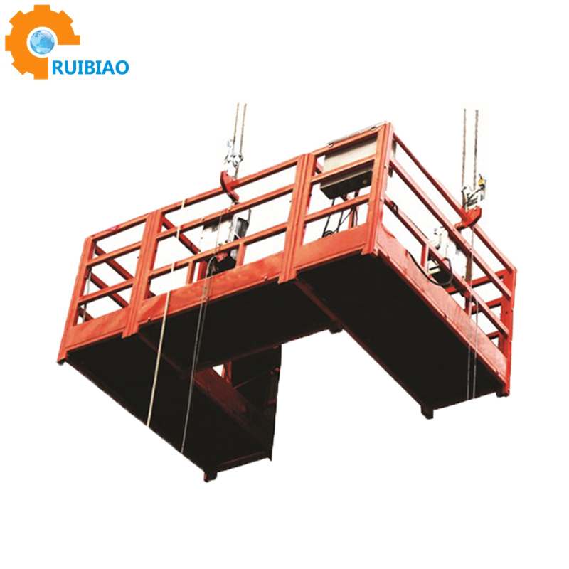 ZLP suspended platform electric swing stage lift for construction