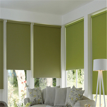 China factory- window blind, 2013 design of curtain for office and hotel solid window roller blinds