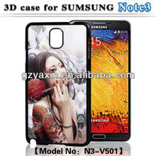 For samsung galaxy note3 minions case,3D Sublimation Case for Samsung Galaxy Note3 N9000