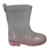 2019 Top Rated High Quality Waterproof Transparent Glitter Kids Pvc Rain Boots