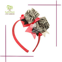 Boutique Zebra-stripe Handmade Childrens Headbands