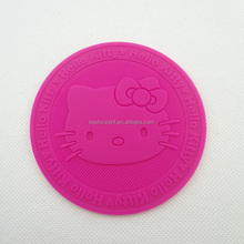 KT shaped silicone cup pad | cup coaster