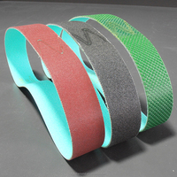 Sharpening high quality performance portable glass edge grinding and polishing sanding small nicke belts for handhold machine