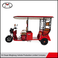 High speed strong power electric tricycle for 2 persons